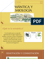 Semántica y semiología