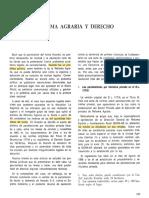 Huando Reforma Agraria y Derecho