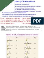 QFL-2349_2016 Aula 02 Dicarbonilas