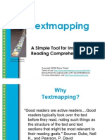 Text Mapping Power Point Presentation
