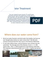 Water Treatment Presentation