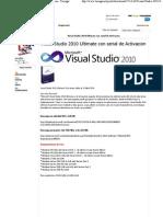 Visual Studio 2010 Ultimate