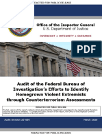 FBI IG Audit