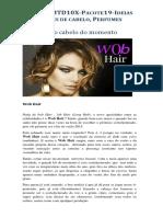 19. Cortes de cabelo e Perfumes (20 Artigos)