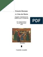 A Crise da Morte - Ernesto Bozzano