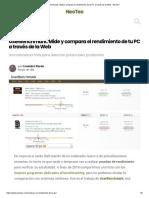 UserBenchmark_ Mide y compara el rendimiento de tu PC a través de la Web