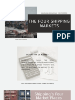 The Four Shipping Markets.pptx