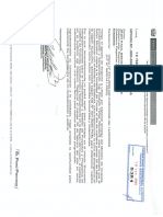 Cargo, Oficio N° 08-2020-VIVIENDA-GA