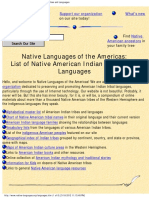american indian tribal list_ native american tribes and languages