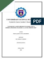 Empresa Pesquera Exalmar - Investigacion II