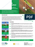 Farm finance one-sheet