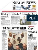 1A- York Daily Record/Sunday News, Sunday, Nov. 28, 2010