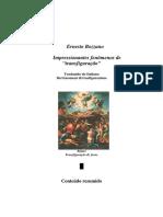 Impressionantes Fenomenos de Transfigura - Ernesto Bozzano