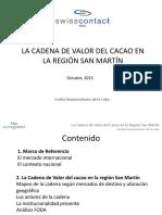 PPT- Cadena Valor Cacao en San Martín-2013