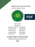MAKALAH PEMBERIAN OBAT PADA IBU HAMIL.docx