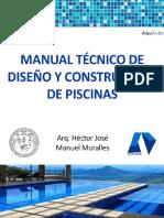Manual tecnico de diseño de construccion de Piscinas - [Arquinube]