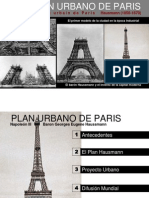 Plan Urbano de Paris
