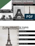 Plan Urbano de Paris