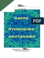 Akutagawa, Ryonusuke - Kappa [doc].doc