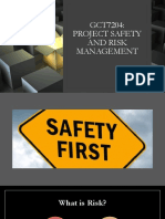 CONCEPT OF PROJECT SAFETY AND RISK MANAGEMENT