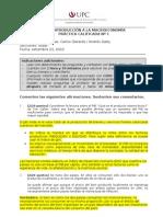 PC1 (con solucionario) - Introducción a la Macroeconomía