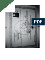sertifikat kak fredy ttg sedasi