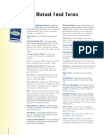 Mutual Fund Glossary
