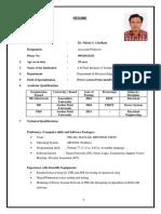 Prof. Nilesh Chotani Sir - ADIT VV NAGAR, ANAND  - EE NGC_RESUME