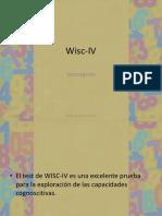 Consignas WISC-IV
