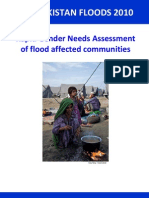 Pakistan Floods 2010 Rapid Gender Needs Assessment En