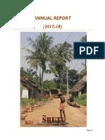 SRUTI Annual Report 2017-18