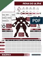 Ficha Balística PDF