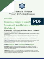 International Journal of Virology & Infectious Diseases