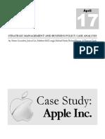2012 Case Study Apple Inc