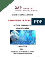 GUÍA SEMINARIO BIOQUÍMICA 2020-I