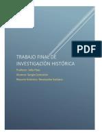 Investigación histórica I