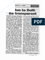 Peoples Tonight, Mar. 9, 2020, Solon to DoH be transparent.pdf
