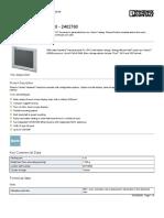 Panel PC- VL PPC 2000