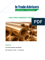 Long Term Commodity Report