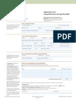 RSP - Application Form