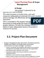 Chapter 3 Project Planning Phase Scope Management