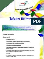 Boletim Bibliográfico n.º 2 - Direitos  Humanos
