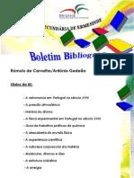 Boletim Bibliográfico n.º 1 - Rómulo de Carvalho/António Gedeão