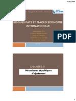 Chapitre III cours macroéconomie internationale