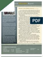 Ministry Newsletter 1210