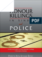 Honour Killing and Sindh Police