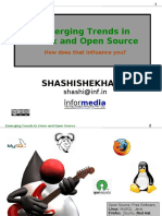 Industry Trends - Linux, Open Source, Mobile, Cloud Computing, Economy, etc