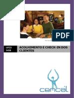 Manual Ufcd 3438 - Acolhimento e Check-In Dos Clientes