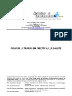 Effetti Polveri Sottili ASL 22_Veneto