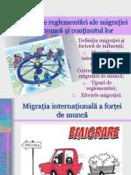 Tipuri de reglementări ale migraţiei de muncă şi